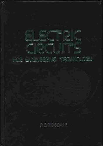 9780070529373: Electric Circuits for Engineering Technology