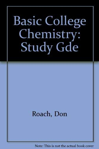 9780070529908: Basic College Chemistry