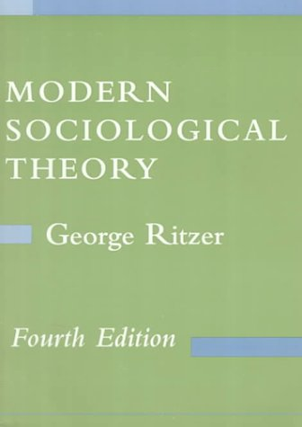 9780070530188: Modern Sociological Theory