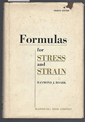 9780070530300: Formulas for Stress and Strain