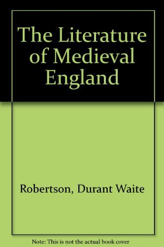 9780070531581: The Literature of Medieval England