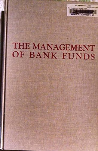 9780070532793: Management of Bank Funds