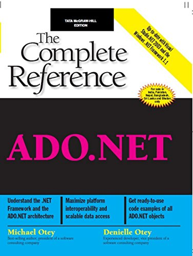 9780070532830: ADO.NET: The Complete Reference