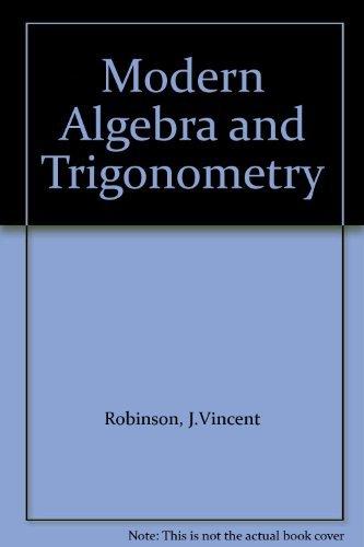 9780070533301: Modern Algebra and Trigonometry