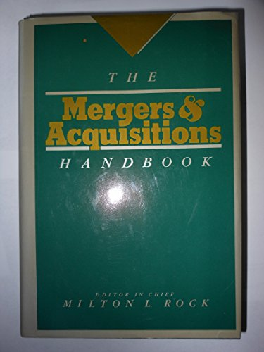 9780070533509: The Mergers and Acquisitions Handbook