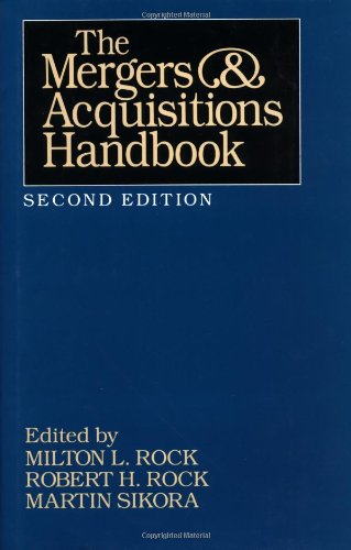 9780070533530: The Mergers and Acquisitions Handbook