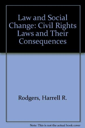 Law and Social Change : Civil Rights: Harrell R. Rodgers;