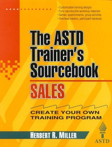 9780070534360: Sales: The ASTD Trainer's Sourcebook