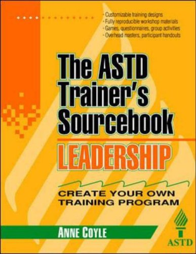 9780070534391: Leadership: The ASTD Trainer's Sourcebook (McGraw-Hill Training Series)