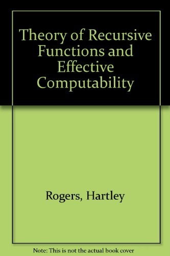 9780070535220: Theory of Recursive Functions and Effective Computability