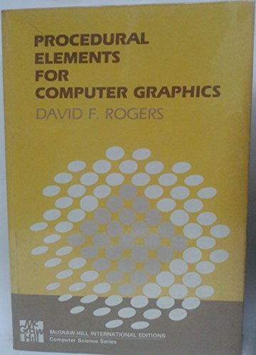 9780070535343: Procedural Elements for Computer Graphics