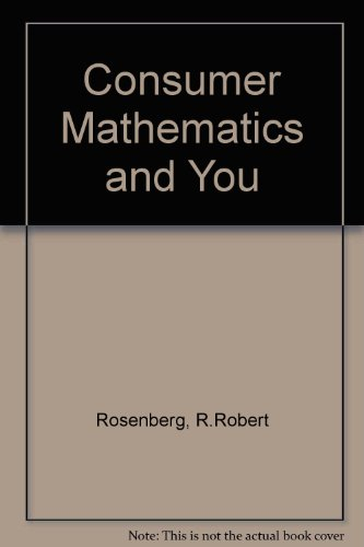 9780070536418: Consumer Mathematics and You