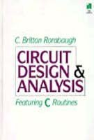 9780070536531: Circuit Design and Analysis: Featuring C Routines/Book and Disk