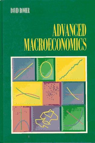 9780070536678: Advanced Macroeconomics
