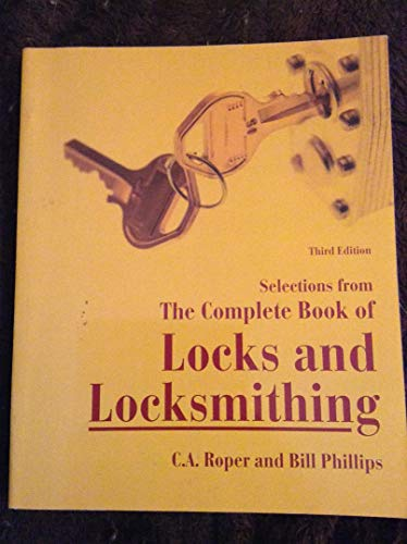 9780070536746: Selections from The Complete Book of Locks and Locksmithing