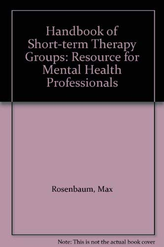 9780070537125: Handbook of Short-term Therapy Groups: Resource for Mental Health Professionals