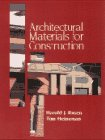 9780070537415: Architectural Materials for Construction