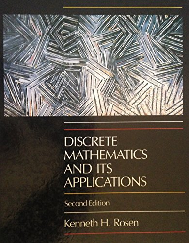 9780070537446: Discrete Mathematics and Its Applications