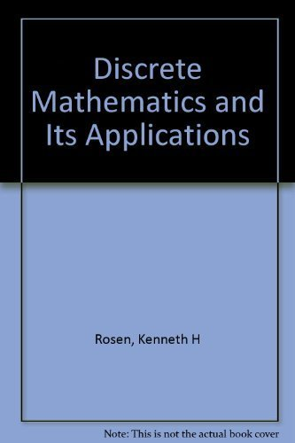 9780070537743: Discrete Mathematics and Its Applications