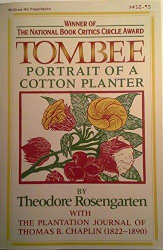 9780070538214: Tombee: Portrait of a cotton planter