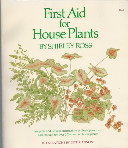 9780070538689: First Aid for House Plants
