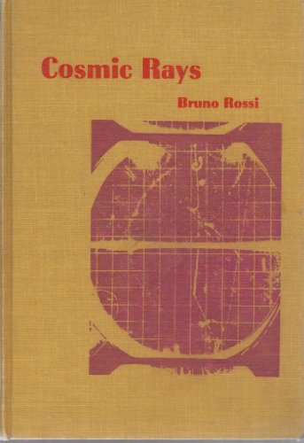 9780070538900: Cosmic rays (McGraw-Hill paperbacks in physics)