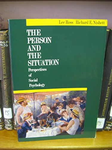 9780070539266: The Person and The Situation