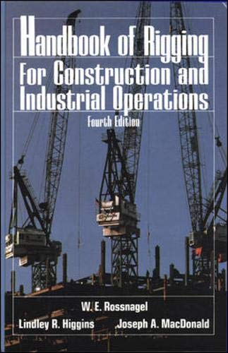 9780070539419: Handbook of Rigging: For Construction and Industrial Operations