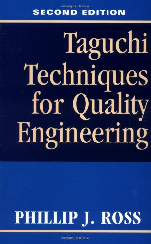 9780070539587: Taguchi Techniques for Quality Engineering