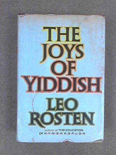9780070539754: The Joys of Yiddish