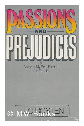 9780070539846: Passions & prejudices: Or, Some of my best friends are people