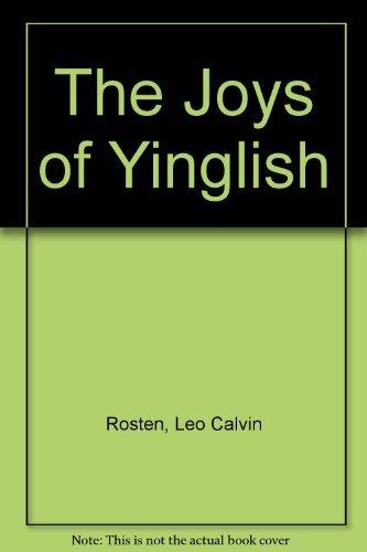 9780070539877: The Joys of Yinglish