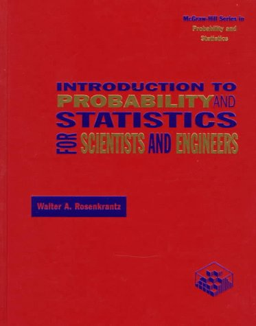 9780070539884: Introduction to Probability and Statistics for Scientists and Engineers (Mcgraw-Hill Series in Probability and Statistics)