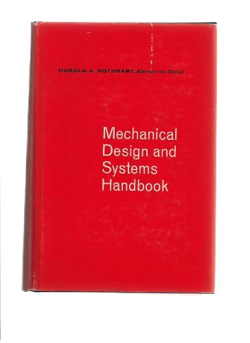 9780070540194: Mechanical Design and Systems Handbook