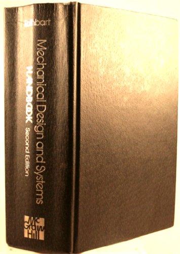 9780070540200: Mechanical Design and Systems Handbook