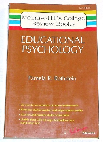9780070540279: Educational Psychology (MCGRAW HILL COLLEGE CORE BOOKS)