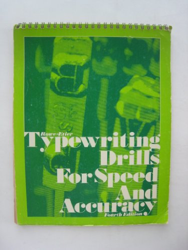 9780070541511: Typewriting Drills for Speed and Accuracy