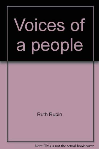 9780070541948: Voices of a People: The Story of Yiddish Folksong