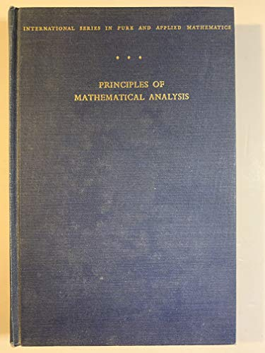 9780070542310: Principles of Mathematical Analysis. Second Edition