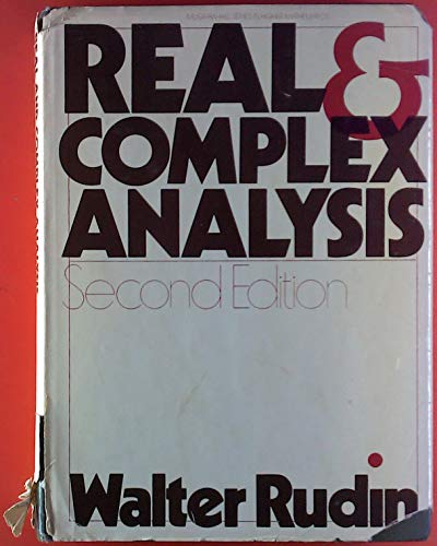 9780070542334: Real and Complex Analysis (McGraw-Hill series in higher mathematics)
