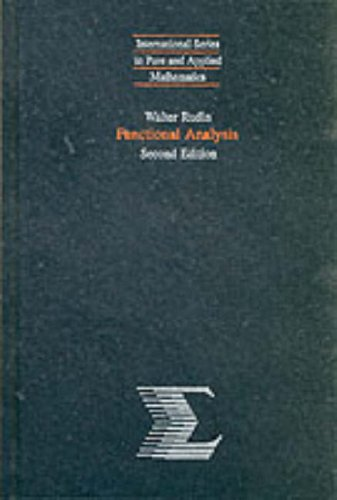 9780070542365: Functional Analysis (International Series in Pure & Applied Mathematics)