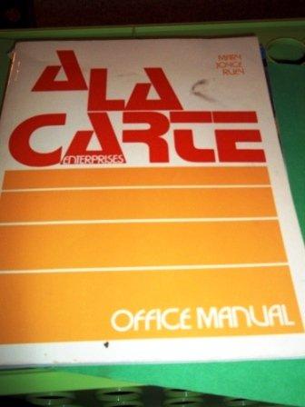 9780070542662: La Carte Enterprises Office Man