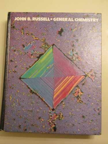9780070543102: General Chemistry (McGraw-Hill series in chemistry)