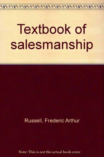 9780070543348: Textbook of salesmanship