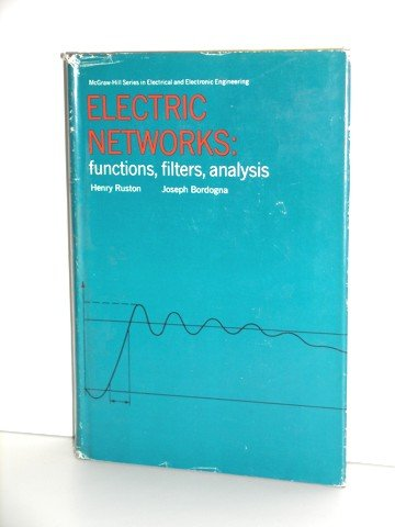 9780070543430: Electric Networks: Functions, Filters, Analysis