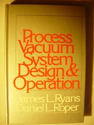 9780070543553: Process Vacuum System Design and Operation