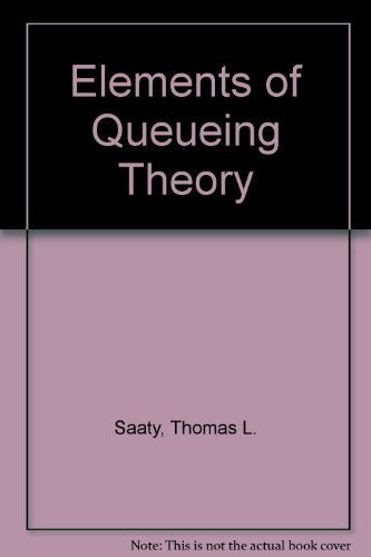 9780070543706: Elements of Queueing Theory