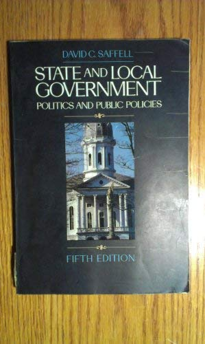 9780070544772: State and Local Government: Politics and Public Policies