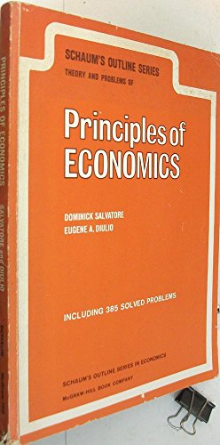 9780070544871: Schaum's Outline of Theory and Problems of Principles of Economics