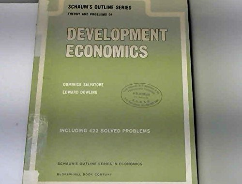 9780070544949: Schaum's Outline of Theory and Problems of Development Economics (Schaum's Outline Series)